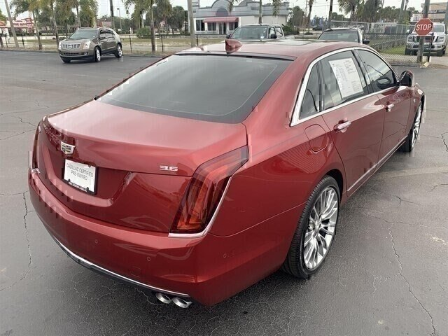 Pre-Owned 2018 Cadillac CT6 3.6L Luxury