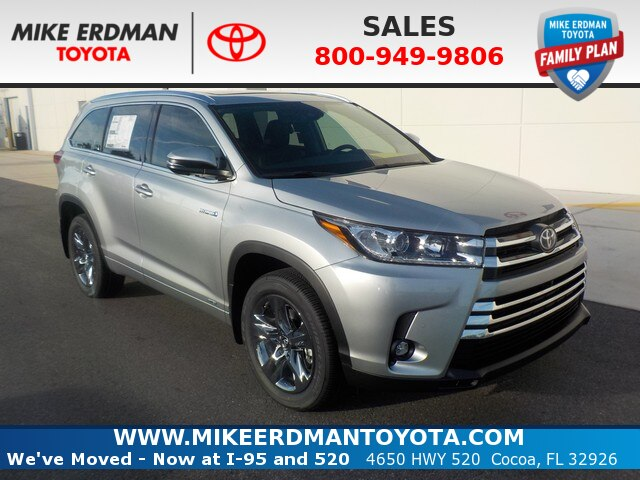 New 2019 Toyota Highlander Hybrid Limited Platinum V6 AWD SUV