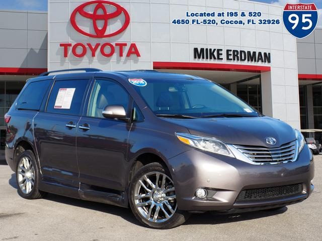 Pre-Owned 2016 Toyota Sienna L 7 Passenger