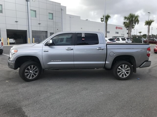 Pre-Owned 2017 Toyota Tundra Limited CrewMax