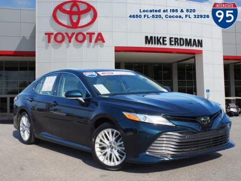 Certified Pre-Owned 2018 Toyota Camry XLE