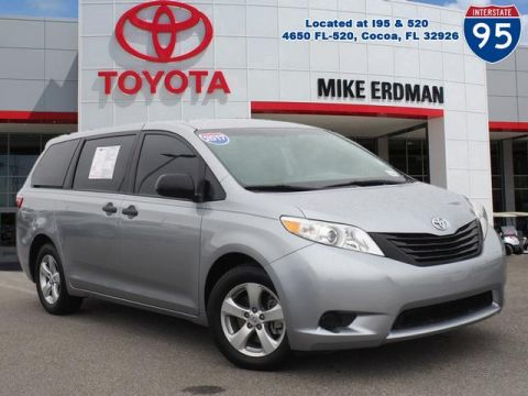 Certified Pre-Owned 2017 Toyota Sienna L 7 Passenger