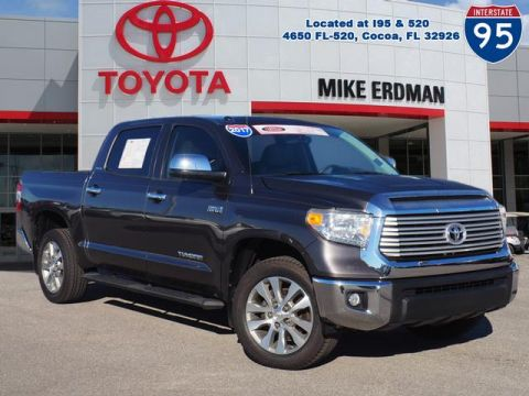 Certified Pre-Owned 2017 Toyota Tundra Limited CrewMax